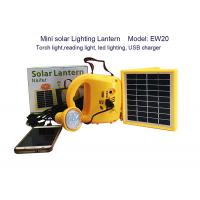 Buy cheap Eco Frienldy Led Solar Lantern Light , High Power Led Torch Maintenance Free from wholesalers