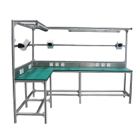 Buy cheap 6063 6061 T8 Aluminum Tube Workstation With Flow Racks from wholesalers
