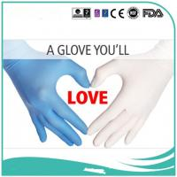 Buy cheap China competitive factory  Black/white/blue/purple 3.5g Nitrile Exam Gloves formedical, industry, household, food proce from wholesalers