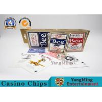 Buy cheap Original American Poker Club 92 Bee Casino Playing Cards With UV Black Core Paper from wholesalers