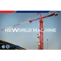 Buy cheap Red Steel TC5210 6T Construction Tower Crane With Hammer Head from wholesalers
