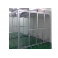 Buy cheap Aluminum Profile GMP Clean Booth / Simple Softwall Clean Room For Pharmacy product