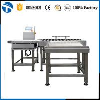 Buy cheap long warranty good performance food package conveyor check weigher from wholesalers