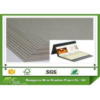 Buy cheap Thickness laminated 3.4mm 2150gsm grey cardboard for desk calendar from wholesalers