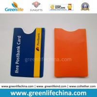 Buy cheap Soft PVC Plastic Card Pocket W/Custom Logo Imprinted Logo from wholesalers