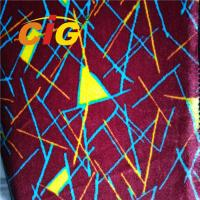 Buy cheap Colorful Printing 100% Polyester Bus Seat Auto Upholstery Fabric 180G-360G/SQM from wholesalers