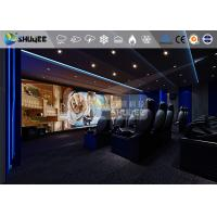 Buy cheap 18 Persons 5D Movie Theater With Special Effect System 3DOF Pneumatic Motion from wholesalers