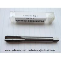 Buy cheap Solid carbide tap M10x1.5, machine tap from wholesalers