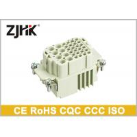 Buy cheap HK - 008 / 024 Heavy Duty Wire Connector With Combination Insert 16A + 10A from wholesalers