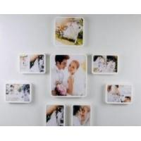Buy cheap Frameless Wall Mounted Acrylic Photo Frames 5x7 Picture Frames For Home Decoration from wholesalers