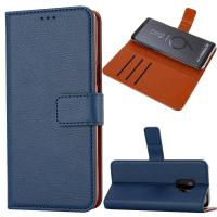 Buy cheap Handmade Leather Flip Phone Cover For Samsung Galaxy S9 ROHS Certificate from wholesalers