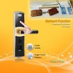 Buy cheap Waterproof Touch Screen Password Door Lock with Reversible Handle from wholesalers