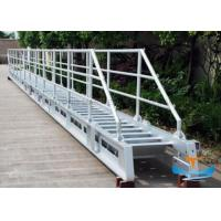 Buy cheap Accommodation Marine Boat Ladders Aluminum Material With Perfect Corrosion Resistance from wholesalers