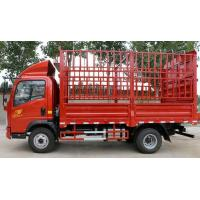 Buy cheap HOWO 6 Wheeler 4x2 Heavy Cargo Truck Full Hydraulic Transmission High Performance from wholesalers