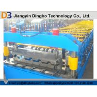 Buy cheap 380V Sandwich Panel Line Corrugated Roof Panel Roll Forming Machine With Hydraulic Control System from wholesalers