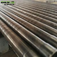 Buy cheap Seamless Slotted Well Screen Galvanized Surface Treatment Laser Cutting Pipe from wholesalers