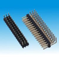Buy cheap 2.54mm Pin Header Triple Row Straight Right Angle from wholesalers