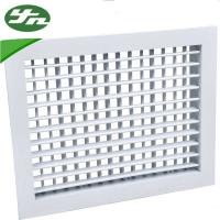 Buy cheap Architectural Metal Return Air Grille Double Deflection For Ventilation System from wholesalers