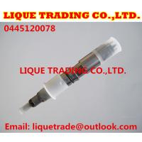 Buy cheap BOSCH 0445120078 0 445 120 078 Genuine & New Common Rail Injector 0445120078 for XICHAI 1112010-630 from wholesalers