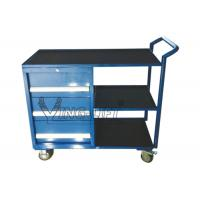 Buy cheap Light Duty Warehouse Storage Equipment , 300kg 3 Drawer Tool Trolley Cabinet from wholesalers