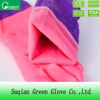 Buy cheap Protective Keep Warm Wash Car Waterproof Household Gloves Pink Blue Green Purple from wholesalers