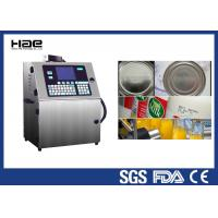 Buy cheap Industrial CIJ Automatic Bottle Batch Inkjet Coding Machine Printer 4 Lines from wholesalers