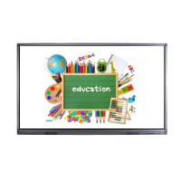 Buy cheap Infrared 10 Point Large Touch Screen Monitor , Smart Board Touch Screen Lcd Display 86 Inch from wholesalers