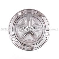 Buy cheap Custom Motorcycle Gas Cap CNC Machined With Aircraft Grade 6061-T6 Solid Aluminum from wholesalers