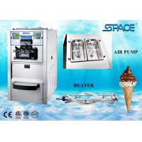 Buy cheap 6248A Gravity Feed Table Top Ice Cream Machine For Business Stainless Steel Material from wholesalers
