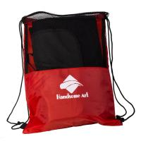 Buy cheap Personalized Wholesale Promotional Mesh Polyester Drawstring Bag-HAD14017 product