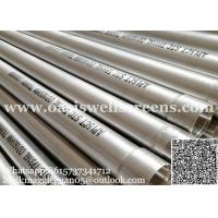 Buy cheap API stainless steel casing pipe/ 8 well casing for sale/ steel oil tubing pipes from wholesalers