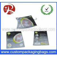 Buy cheap Custom Printed Plastic Hanger Bags , Women Underwear With Slider from wholesalers