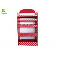 Recycle Cosmetics Cardboard POS Display Corrugated Christmas Style