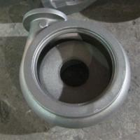 Buy cheap Turbo body iron 450-10 ductile iron casting parts quenching heat treatment grey iron casting from wholesalers
