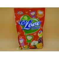 Heart Shape Lollipop Healthy Hard Candy / Carb Free Low Calorie Candy For Girl