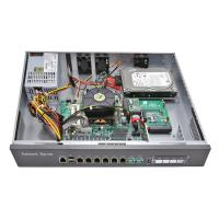 Buy cheap 1U Rack Mounted Network Security Firewall PC LGA1150 CPU , Intel 6 LAN Card from wholesalers