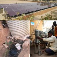 Buy cheap Solar irrigation system AC 380V 50/60Hz solar water pump system from wholesalers