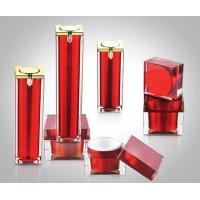 Buy cheap 15ml 30ml 50ml Acrylic Square Airless Pump Bottles, Square Acrylic Cream Jars from wholesalers