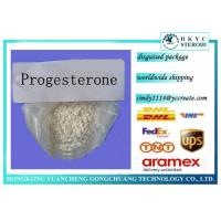 Buy cheap Pure Prohormone Supplements , Steroid Hormone Powder Progesterone CAS 57-83-0 from wholesalers