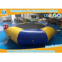 Buy cheap Airtight Sealed Inflatable Water Park Games 3 Years Warrant Commercial Grade from wholesalers