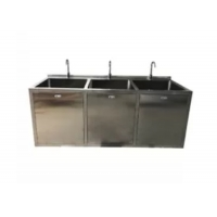 Buy cheap OT Room Medical Stainless Steel Sinks With Big Bowl And Sensor Faucet product