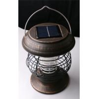 Buy cheap Solar-Powered Mosquito Fly Pest Insect Bug Zapper Yard Outdoor Solar Light from wholesalers