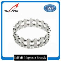 Buy cheap Metal Expandable Magnetic Therapy Bracelet Fashion NdFeB IOS9001 Certification from wholesalers