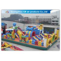 Buy cheap Safety Octopus Party Style Inflatable Amusement Park With Slide For Fun Games product
