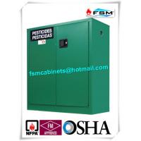 Buy cheap Safety Hazardous Storage Cabinets , Hazmat Storage Locker For Agriculture Pesticide from wholesalers