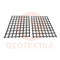 Buy cheap Low Elongation 3.95m Polyester Geogrid For Road Reinforcement Warp Knitted product
