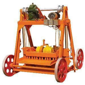 QTM10-15 mobile brick machine