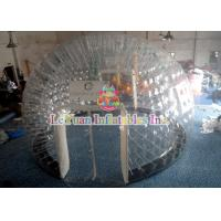Buy cheap PVC Material Layer Clear Inflatable Airtight Tent Transparent Bubble Tent With Door product