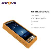 Buy cheap Android Handheld Fingerprint Scanner Device HD1280*720 LCD Display from wholesalers