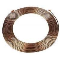Buy cheap High intensity Light weight copper coated Double Wall Steel Tube for automobile brake from wholesalers